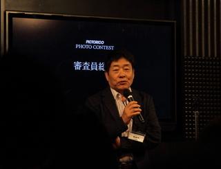 審査員のハービー・山口さん.JPG